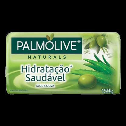 Imagem de Sabonete em barra uso diário palmolive 150g aloe vera