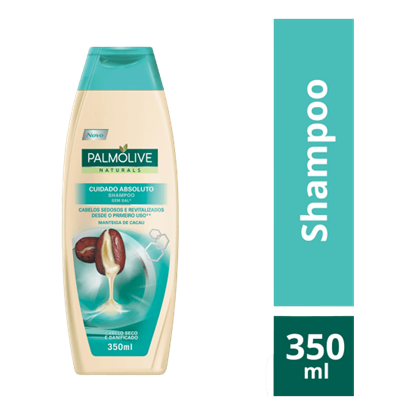Imagem de Shampoo uso diário palmolive 350ml cuidado absoluto cacau