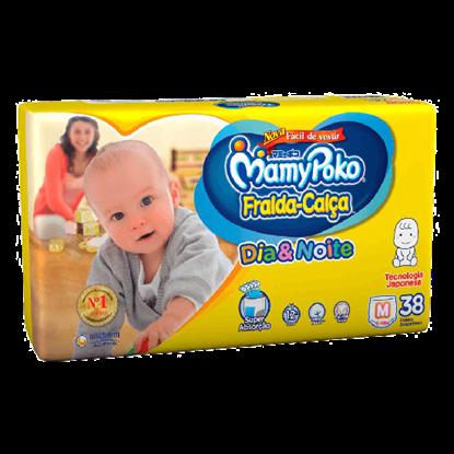 Imagem de Fralda infantil mamypoko c/38 calça dia&noite mega m