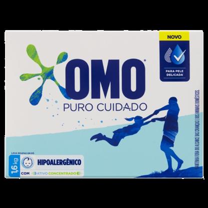 Imagem de Detergente em pó omo 1,6kg puro cuidado