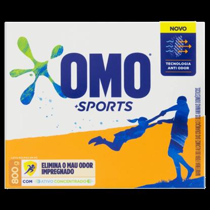 Imagem de Detergente em pó omo 800g sports
