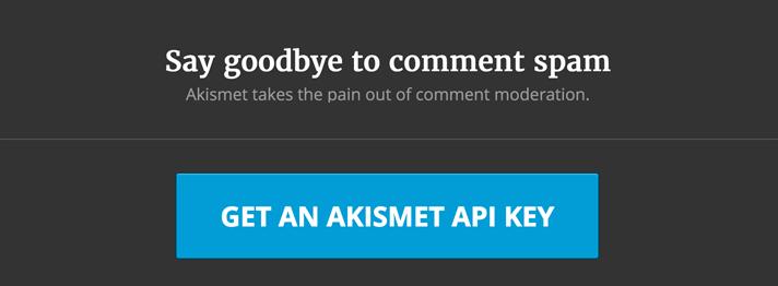Sitio Web Akismet