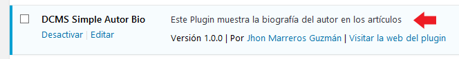 Internacionalización Plugin Metadata