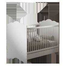 Berço Cama 3 em 1 Sleeper Baby Branco - Pnr Móveis
