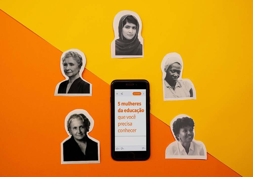 mulheres na educação