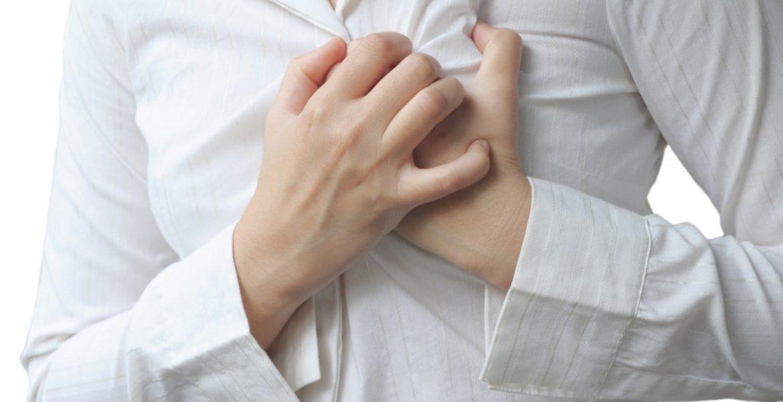 dolor de pecho mujeres