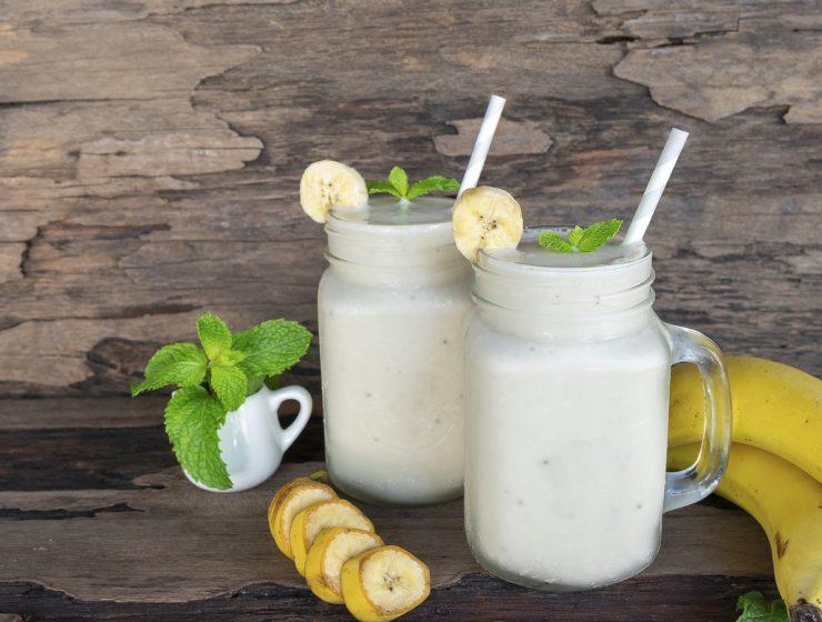 licuado de frutilla con leche calorias