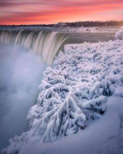 imagenes de cataratas congeladas