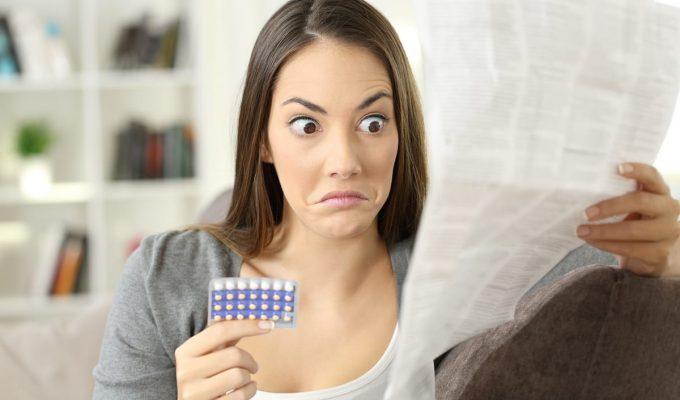 efectos de las pastillas anticonceptivas