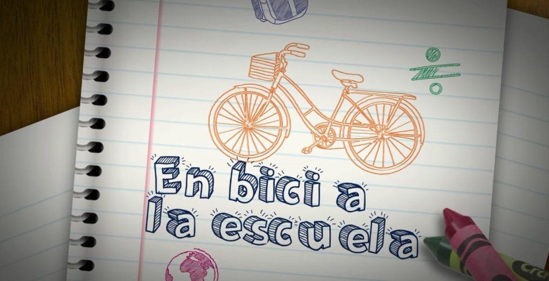 Finlandia a la escuela en bicicleta