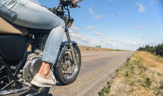 cómo andar en moto