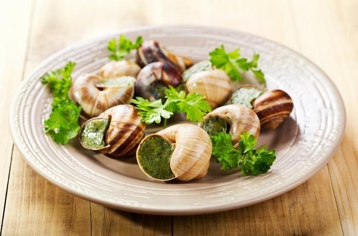 receta con caracoles