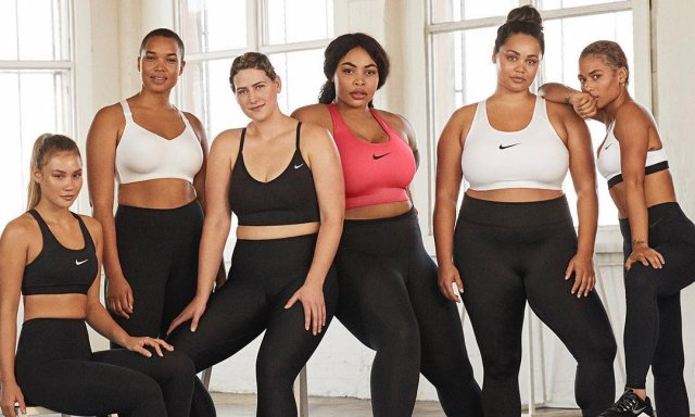 """5b4ee616 ... sino que también mostrará los maniquíes Nike plus size para deporte por  primera vez en un espacio comercial"""", sostuvieron desde la empresa."""