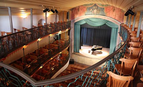 Teatro Municipal de Ouro Preto - Guia das Artes