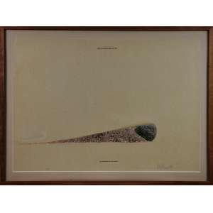 ANTONIO DIAS - Serigrafia. The Illustration of Art/ The Archipelago and The Island. Ano: 1974. Ed. Prova do Artista (A.P.). Dimensões: 48 x 68cm. Com moldura: 58,5 x 78,5cm. Ass. inf. direito.