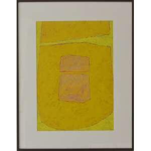 IANELLI, Arcangelo - Mista sobre papel. Obra única medindo 62 x 45 cm. Ano 1970. Obra registrada sob o no. GGSP 76 pelo Estúdio Katia Ianelli. Acompanha certificado ass por Katia Ianelli.