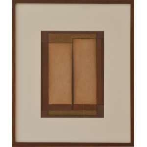 IANELLI, Arcangelo- Pastel s/papel. 1976. 32 x 23 cm. Com moldura. Ass. inf. dir. Com certiificado de Katia Ianelli.