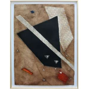 ARTHUR LUIZ PIZA - Gravura em metal. Tamanho: 76 x 56 cm. Ed. E.A. Ass. canto inf. dir. Com moldura: 80 x 60 cm.