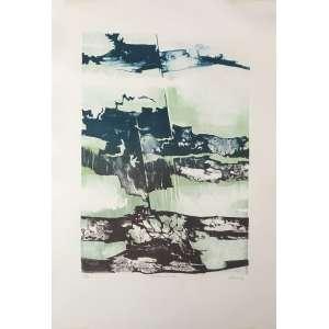 RENINA KATZ - Litografia Estandarte. Ed. 10/30. Tamanho: 57 x 38 cm. Recentemente restaurada. Ass. inf. dir. Sem moldura.