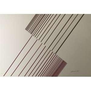 SÉRVULO ESMERALDO - Serigrafia. Ed. 2/60. Tamanho: 72 x 103 cm. Ass. inf. dir. Sem moldura.<br />