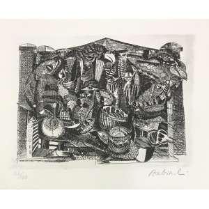 BABINSKI - Gravura em metal. Ed. XL/100. MI: 13 x 17 cm. Medida com moldura: 31 x 35 cm. ass. inf. dir.