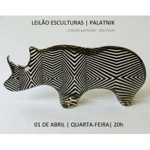 Sala Russia - Escritório de Arte - Leilão de Esculturas Palatnik - Coleção particular, São Paulo