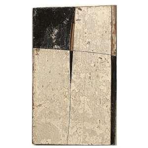 Madeira de embarcação. Ano: 2005 - 28 x 18 x 3,5 cm. Assinada e datada no verso.