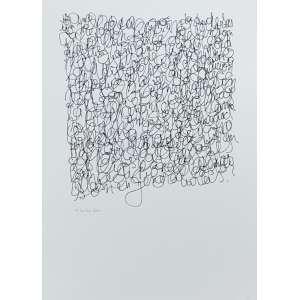 LEON FERRARI - Serigrafia. Ed. P.A. 3/10. Ano: 2010. Tamanho: 70 x 50 cm. Ass. inf. esq. Sem moldura.