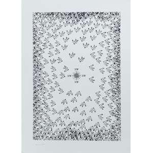 LEON FERRARI - Serigrafia. Ed. H.C. Ano: 2010. Tamanho: 70 x 50 cm. Ass. inf. esq. Sem moldura.