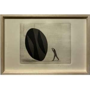 ALEX CERVENY - Gravura em metal. Tiragem Prova do Artista. Dimensões 27 x39 cm. Ass. inf. dir. Com moldura.