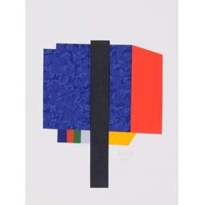 EDUARDO SUED, Geométrico - Gravura 55/100 - 42x32 cm - ACID 2013