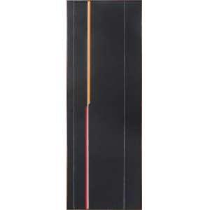 f4c91dce9 LOTHAR CHAROUX, Geométrico - Óleo sobre tela - 100 x 35 cm - Assinada no