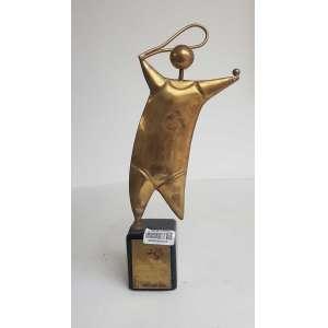 GUSTAVO ROSA, Maria Ester, Escultura em bronze - 30x11 cm - Peça Assinada