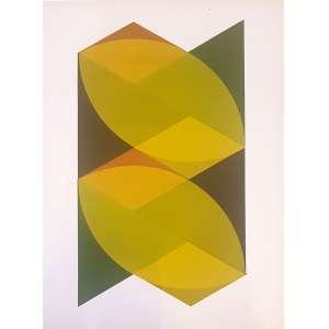 L. BARTT, Composição geométrica - Gravura 8/30 - 55x40 cm - Assinado no canto direito 1973