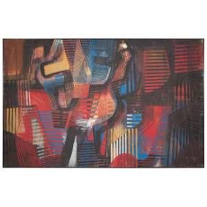 ROBERTO BURLE MARX, Sem titulo - Óleo sobre tela - 155x242 cm - ACID (Com documento de autenticidade)