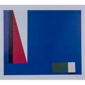 EDUARDO SUED, Composição - Gravura 55/100 - 80x70 cm - Assinado no canto direito 2014