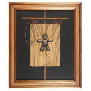 MÁRIO GRUBER - Da série estandarte - óleo sobre tela - 110 x 90 CM - Assinatura canto inferior direito