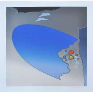 KENJI FUKUDA, Composição - Gravura numerada - 70 x 70 CM - Assinatura canto inferior direito
