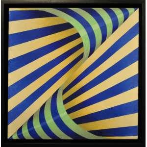 YULI GESZTI - Acrílica sobre tela - 30 x 30 CM - Assinatura no verso