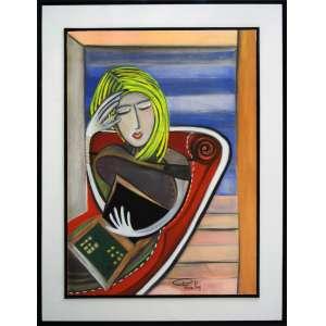 PATRICIA KRUG - O Divan - Giclée - 100 x 70 CM - Assinatura canto inferior direito
