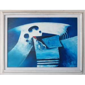 SEIJUN KI - Abstrato - 50 x 70 CM - Assinatura canto inferior direito - 1996