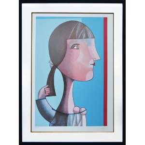 INOS CORRADIN - Menina - Serigrafia 59/100 - 70 x 50 CM - Assinatura canto inferior direito