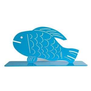 ALDEMIR MARTINS, Peixe - escultura em ferro - 34x72x20 cm - Assinada (Com documento do Estúdio Aldemir Martins)