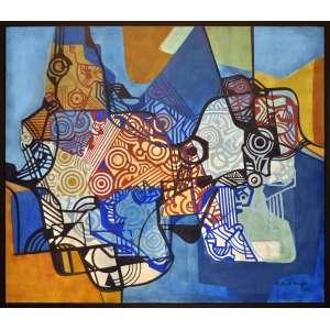 Burle Marx - Composição - Panneaux - 140 x 160 CM - A.C.I.D