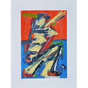 Ivald Granato - Da Série Figuras - Serigrafia - 40 x 30 CM - A.C.I.D