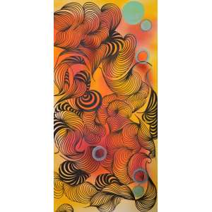 Taly Cohen -SunsetTécnica mista - Tam120 x70 - Ano 2018