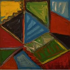 Ana Marília Braga- Abstrato tam 1,00 x 1,00