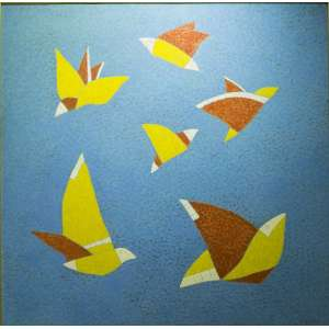 Darlan Rosa -titulo Rede Azul - ano 1999 - Tam1,00 x 1,00 cm