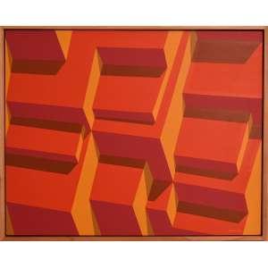 Jamison Pedra - Cidade Vermelha II - ano 2009 - tam 0,80 x 1,00