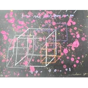Sando Gos - Cubos - A.S.P. - Tam 35 x 44 - ano 2017